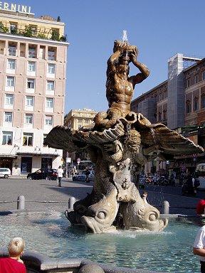 トリトーネの噴水Fontana di Toritone downsize