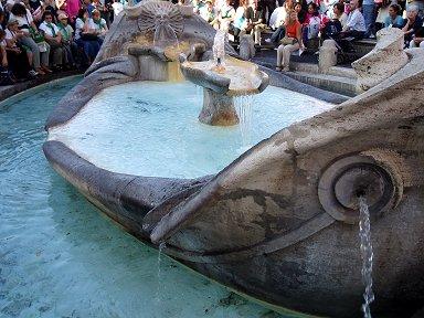 舟の噴水Fontana della Barcaccia downsize
