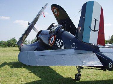 フランス海軍F4U7後ろ姿downsize