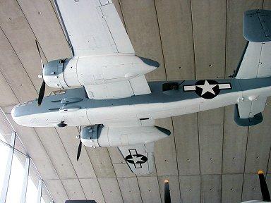 米海兵隊のPBJミッチェル(Duxford 博物館)downsize