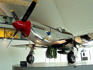 この角度のムスタングはまさに駿馬(RAF博物館)downsize