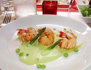 パリの一皿エビアスパラそら豆P6252600REVdownsize