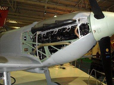 Spitfire Vの心臓Merlin 45 エンジン英RAF博物館downsize