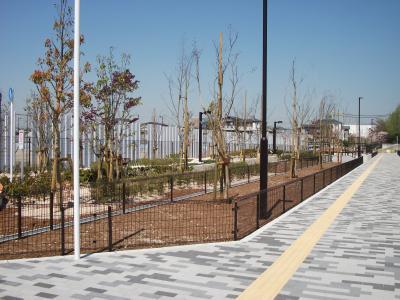 岸部 国循横公園