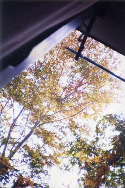 アパートの窓の外Window of the Susumus room(800)-3 430