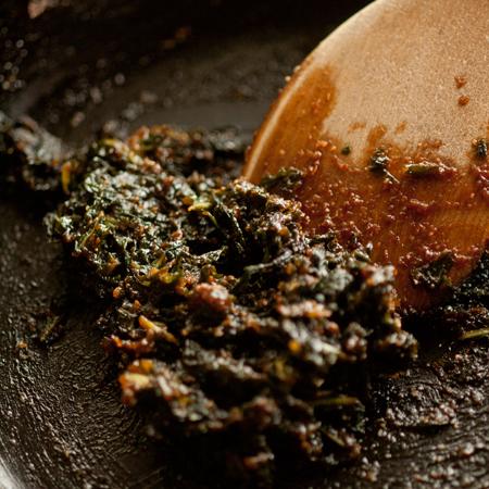 蕗の葉味噌2