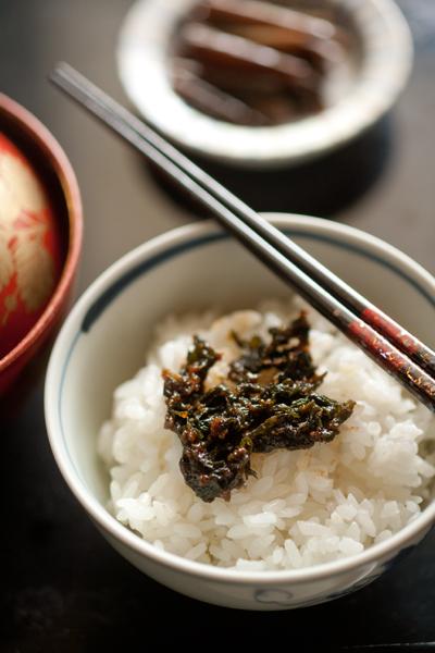 蕗の葉味噌3