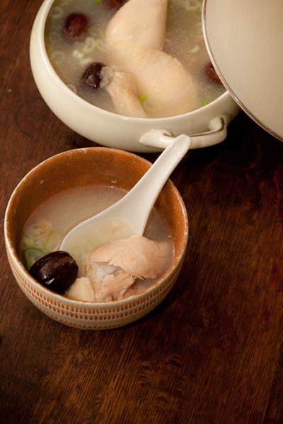 参鶏湯風2