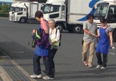シモハナ物流宣伝行動!