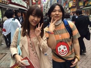 2014.05.15 ファストフード世界同時アクション 雨宮処凛さんと。