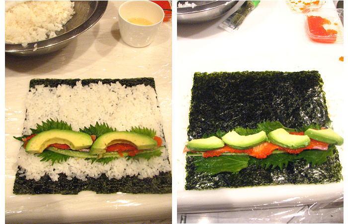 巻き寿司つくって