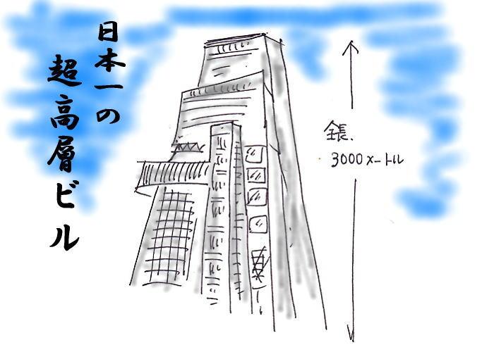 日本一の超高層ビル