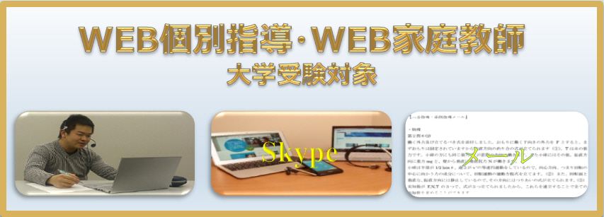 WEB個別指導・WEB家庭教師
