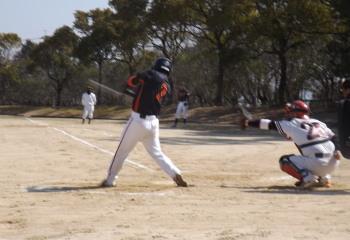 DSCF50171回裏宅急便福田が中越え2点本塁打