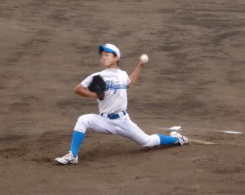 P6140970東野中学先発投手