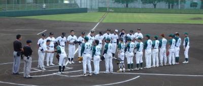 P7121393一塁側 花園クラブ 三塁側NTT熊本