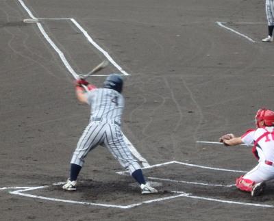 P80416181回表熊本果実連無死二塁から2番三振