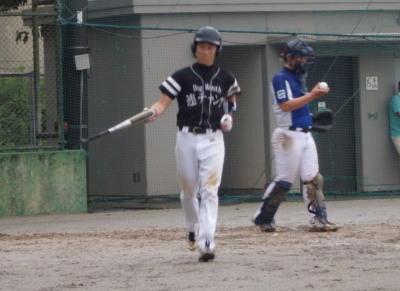P82019645回裏津田のの適時打後次の福山、原口と連続四球で1点加え7対0