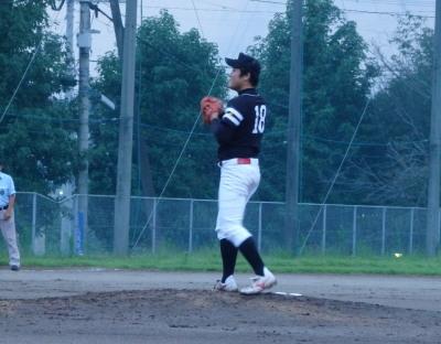 P8262039連チャンず先発 桂投手
