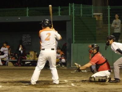 P9102471果実連2回表先制の左超えエンタイトル二塁打を放った7番
