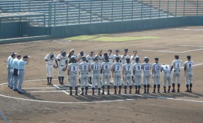 P9162789一塁側 芦北高校 三塁側甲佐高校