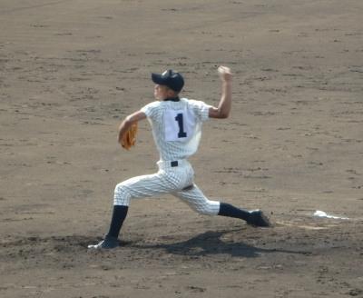 P9162857甲佐先発 松尾知投手