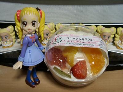 フルーツ&苺パフェ 001