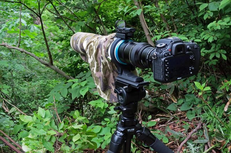BORG77EDⅡ + TC-16A改 + Nikon D7100