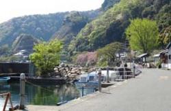 菅浦の漁港s
