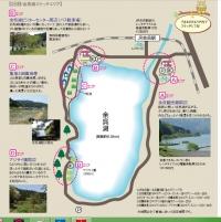 余呉湖スケッチエリアMAP