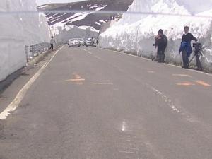 山田峠 往路