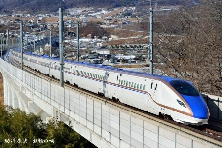 長野新幹線 E7系(試運転)