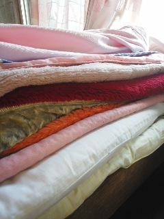 十二単の毛布