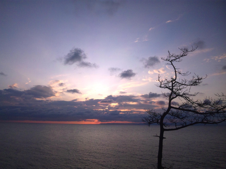 シーサードラインから見た夕焼け