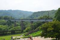 旧山線鉄橋140825