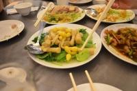 麗景餐廳のタケノコ野菜炒め140825