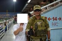 台湾陸軍軍人と記念撮影140830