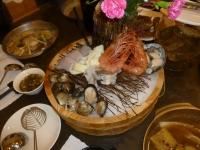 味の町の海鮮盛り140510