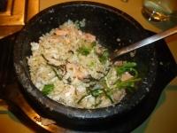 鮭親子石鍋ご飯140531