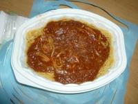 スパゲティミートソース140610