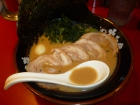 大和家の醤油チャーシュー麺140801