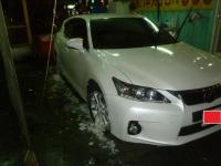 CT200h洗車中140808