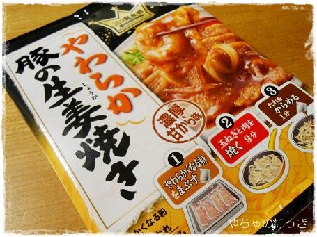20140331やわらか生姜焼き1