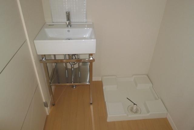 鹿児島市紫原3丁目賃貸アパートの洗面所