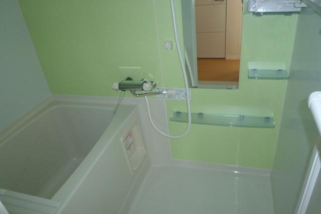 鹿児島市紫原3丁目賃貸アパートの浴室
