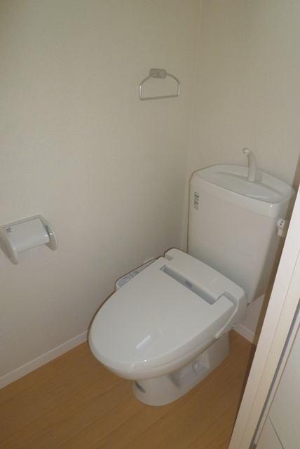 鹿児島市紫原3丁目賃貸アパートのトイレ