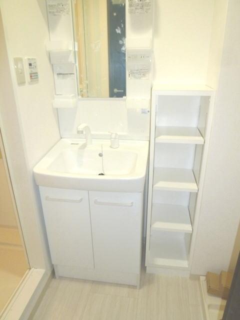 鹿児島市鴨池2丁目賃貸マンションの洗面所