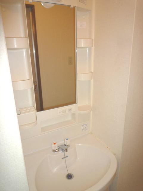 鹿児島市高麗町賃貸マンションの洗面所