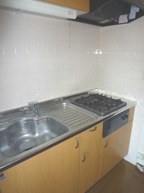 鹿児島市高麗町賃貸マンションのキッチン