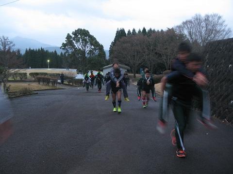 朝トレーニング